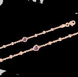 Gold Armband mit Zirkonia