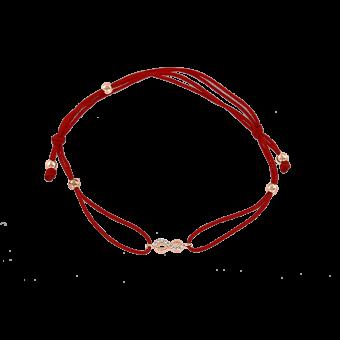 """""""Unendlichkeit"""" Armband in Roségold"""